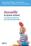 Suzon Bosse-Platière et Anne Dethier - Accueillir le jeune enfant - Un cadre de référence pour les professionnels ?.