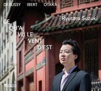 Suzuki Ryutaro - Ce qu'a vu le vent d'Est. 1 CD audio