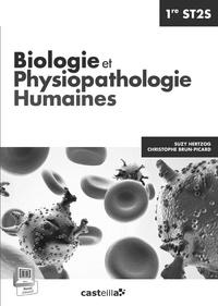 Suzy Hertzog - Biologie et physiopathologie humaines 1e ST2S - Livre du professeur.