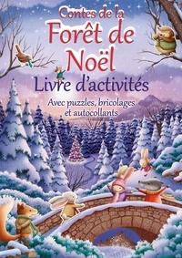 Suzy Senior - Contes de la forêt de Noël - Livre d'activités.