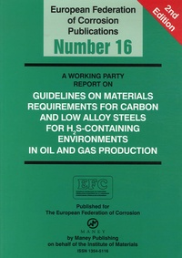Svein Eliassen - Guidelines on Materials Requirements for Carbon and Low Alloy Steels For H2S-Containing Environments in Oil and Gas Production.