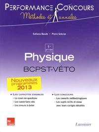 Svélana Baude et Pierre Grécias - Physique 1re année BCPST-VETO.