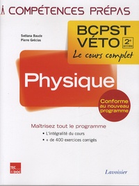 Svélana Baude et Pierre Grécias - Physique 2e année BCPST-VETO.