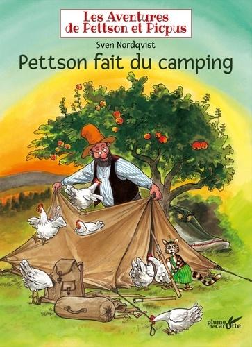 Sven Nordqvist - Les aventures de Pettson et Picpus  : Pettson fait du camping.