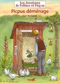 Sven Nordqvist - Les aventures de Pettson et Picpus  : Picpus déménage.