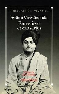 Swâmi Vivekânanda - Entretiens et causeries.
