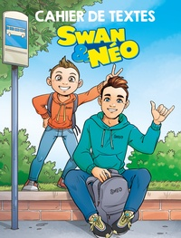 Swan & Néo - Cahier de textes Swan & Néo - Avec des stickers.