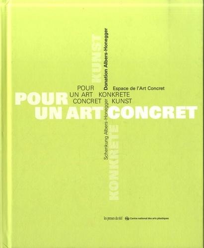 Sybil Albers-Barrier et Céline Aubertin - Pour un art concret - Donation Albers-Honegger.