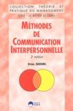 Sybil Gehin - Méthodes de communication interpersonnelle.