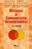 Sybil Persson - Méthodes de communication interpersonnelle.