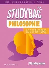 Sylvain Bosselet - Philosophie - Les citations.