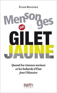 Sylvain Boulouque - Mensonges en gilet jaune - Quand les réseaux sociaux et les bobards d'Etat font l'Histoire.
