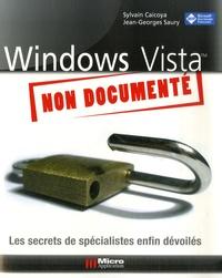 Sylvain Caicoya et Jean-Georges Saury - Windows Vista non documenté.