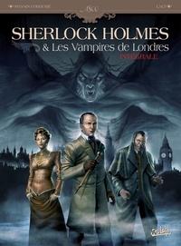 Sylvain Cordurié et  Laci - Sherlock Holmes & Les Vampires de Londres Intégrale : Tome 1, L'appel du sang ; Tome 2, Morts et vifs.