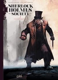 Sylvain Cordurié et Eduard Torrents - Sherlock Holmes Society Tome 2 : Noires sont leurs âmes.