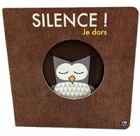 Sylvain Diez - Silence je dors - Album tout carton avec découpes.