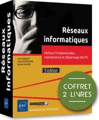 Livres audio gratuits sans téléchargement Réseaux informatiques  - Coffret de 2 livres : notions fondamentales, maintenance et dépannage des PC