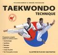 Sylvain Karecki et Mikaël Viscogliosi - Taekwondo technique.