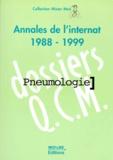 Sylvain Marchand-Adam - PNEUMOLOGIE. - Annales de l'internat 1988-1999.