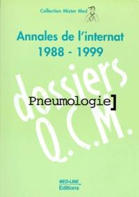 Deedr.fr PNEUMOLOGIE. - Annales de l'internat 1988-1999 Image