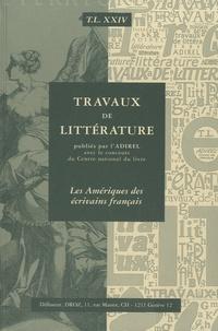 Sylvain Menant - Les Amériques des écrivains français.