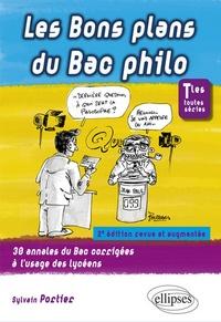 Sylvain Portier - Les bons plans du bac philo terminales toutes séries.
