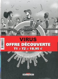 Sylvain Ricard et  Rica - Virus  : Pack découverte en 2 volumes - Tome 1, Incubation ; Tome 2, Ségrégation.