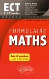 Sylvain Rondy - Formulaire maths ECT 1re & 2e années.