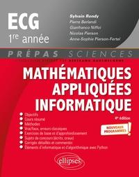 Sylvain Rondy et Pierre Berlandi - Mathématiques appliquées, informatique prépas ECG 1re année.