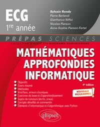Sylvain Rondy - Mathématiques approfondies, informatique prépas ECG 1re année.