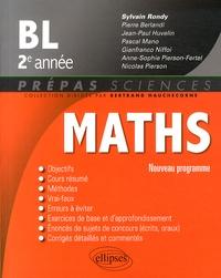 Sylvain Rondy - Mathématiques BL 2e année.