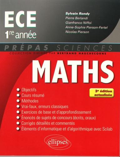 Sylvain Rondy - Mathématiques ECE 1re année.