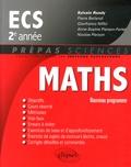 Sylvain Rondy - Mathématiques ECS 2e année - Nouveau programme.