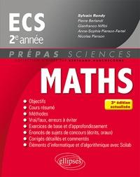 Sylvain Rondy et Pierre Berlandi - Mathématiques ECS 2e année.