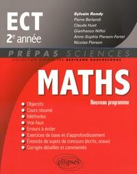 Sylvain Rondy - Mathématiques ECT 2e année.