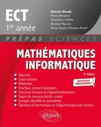 Sylvain Rondy - Mathématiques informatique ECT 1re année.