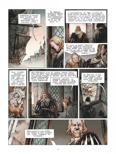 Le chant des runes Tome 4 Les Mines de Motsognir. Avec un cahier bonus de 8 pages réservé à la première édition