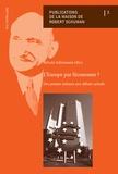 Sylvain Schirmann - L'Europe par l'économie ? - Des projets initiaux aux débats actuels.
