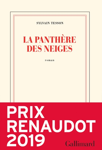 Sylvain Tesson - La panthère des neiges.
