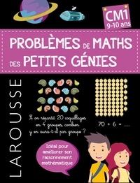 Sylvaine Auriol - Les problèmes de maths des petits génies - CM1.