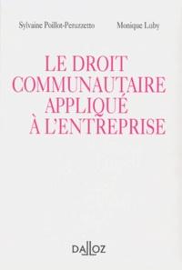 Sylvaine Poillot-Peruzzetto et Monique Luby - .