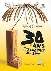 Sylvette Gaudichon et Geneviève Sabaté - les 30 ans de la Braderie de l'Art - Joyeux a[rt nniversaires !.