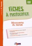 Sylvia Bourget et Christiane Lucotte - Fiches à photocopier Découverte du monde CE1.