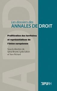 Sylvia Brunet et Lydia Lebon - Prolifération des territoires et représentations territoriales de l'Union européenne.