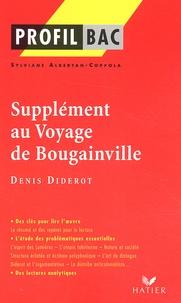 Sylviane Albertan-Coppola - Supplément au Voyage de Bougainville, Denis Diderot.