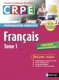 Sylviane Baudelle et Claire Doquet - Français écrit CRPE - Tome 1.