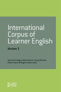 Sylviane Granger et Maïté Dupont - International Corpus of Learner English - Version 3 - single user - 2 years.