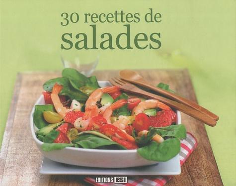 Sylvie Aï-Ali et Stéphanie Ellin - 30 recettes de salades.