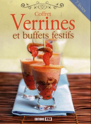 Sylvie Aï-Ali - Coffret Verrines et buffets festifs - 7 volumes.
