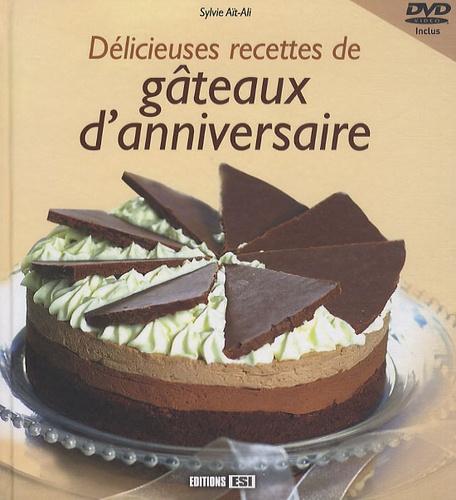 Sylvie Aï-Ali - Délicieuses recettes de gâteaux d'anniversaire. 1 DVD